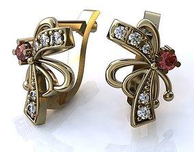 3D print model Earrings BS034