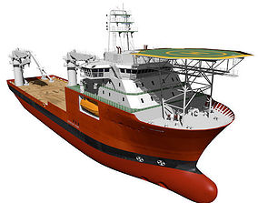 Construction vessel 3D