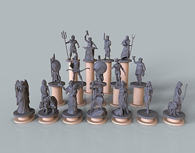 3D printable model Pantheon of greek gods