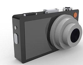Camera 3D model electronics shutter