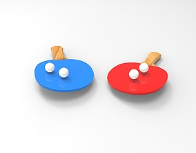 Ping-Pong 3D printable model