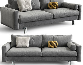 Interface Sofa Blues 3D model