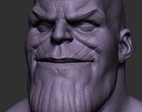 3D print model Thanos Bust