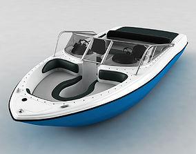 3D Motor Boat