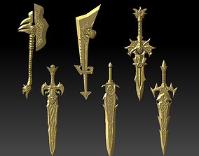 Weapon Collection 3D printable model