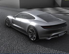 Porsche Taycan 2019 3D model
