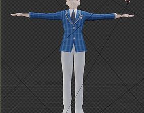 3D asset a man