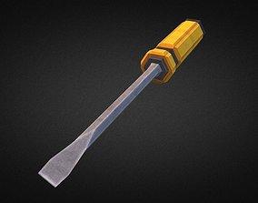 Screwdriver 3D asset