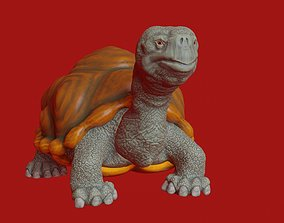 Turtle stylized for 3d printing