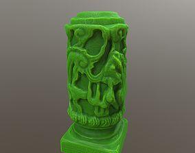 3D print model Dragon Statue medieval