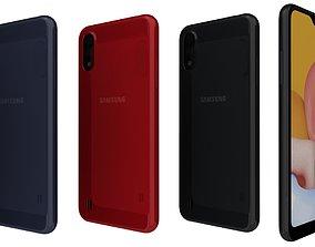 Samsung Galaxy A01 All Colors 3D model