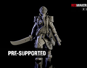 3D print model Commissar of the Imperial Force