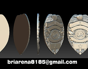Tucson Arizona Badge - 3D Badges Collection