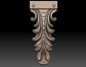 Decor vertical 3D printable model decor