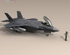 3D model F35A - USAF