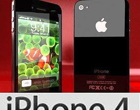 3D model Apple iPhone 4 High Detail
