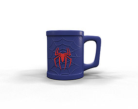 Spiderman cup 3D print model