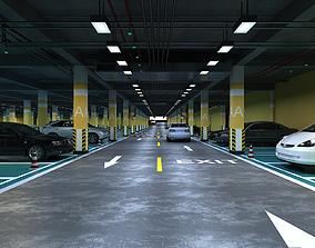 ready Underground Parking 3D model