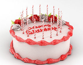 birthday Birthday Cake 3D model