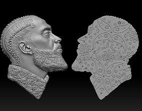 3D printable model nipsey-hussle-pendant