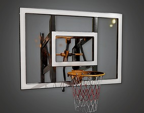 3D model Basketball Hoop 02a - Sporst And Gym