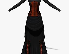 3D model Steampunk Female