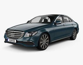 Mercedes-Benz E-Class W213 Exclusive Line 2016 3D