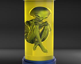 Alien in a Jar 3D printable model