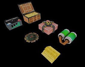 3D model Videogame General Items LowPoly