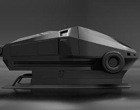 Sci-Fi Sleeping Pod 3D model