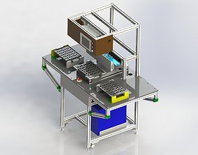 3D model Bar Code Scanning Device