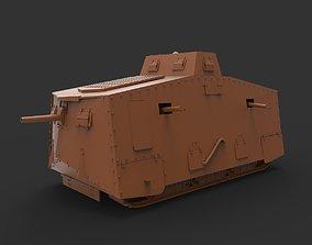 3D printable model sturmpanzerwagen