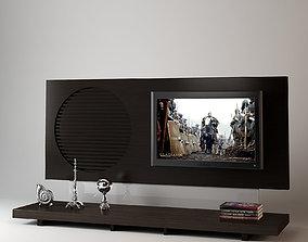 Modern Media Cabinet 3D