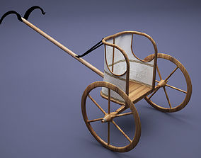 Egyptian Chariot 3D
