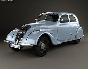 3D Peugeot 302 1936