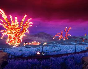 3D model VOXY - voxel explosions pack
