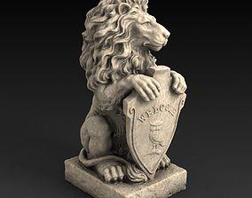 Sculpture Lion 3D printable model