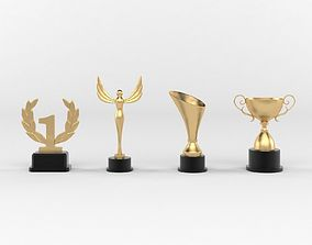 Award Trophy 3d Model Free Download