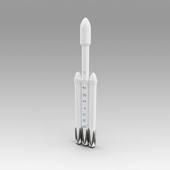 Space X Falcon Heavy