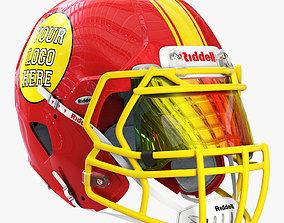 Riddell speed helmet 3D