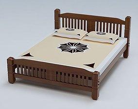 Bed Cot 03 3D