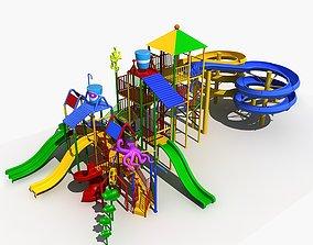 Amusement Park 11 - Water Park 3D model