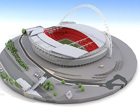 3D Wembley Stadium - London