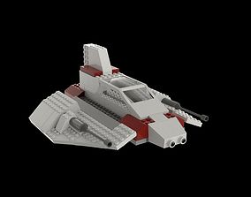 3D model Lego Starship