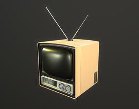 3D model TV retro