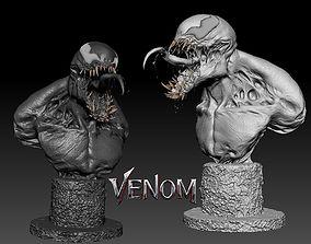 Bust Venom Very High quality details 3D print model