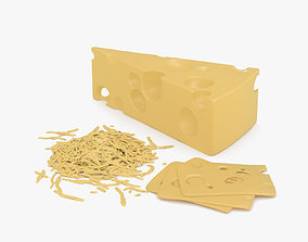 Swiss Cheese 3D model