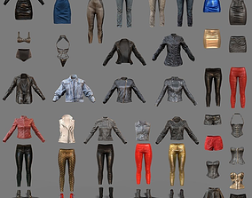 3D asset Sexy Clothing Collection 44 Pieces