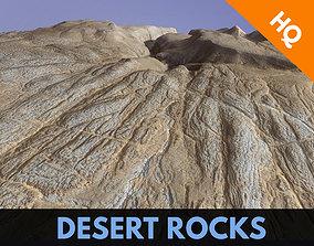 3D asset Cliffs Surface Mountain Desert Terrain 4