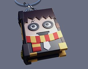 3D print model Harry Potter Keychain